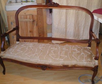 l 39 atelier de lila technique du tapissier d 39 ameublement. Black Bedroom Furniture Sets. Home Design Ideas